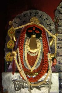 Kalighat, que es el Kalighat, Kali, el templo de Kali, historia del templo de kali