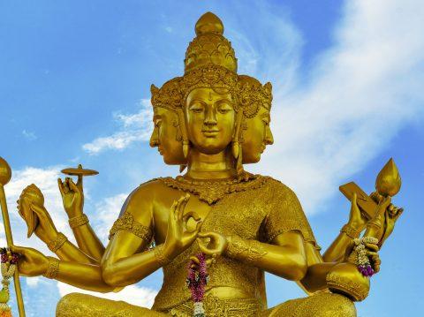 Brahma, el creador de todos los dioses según el hinduismo