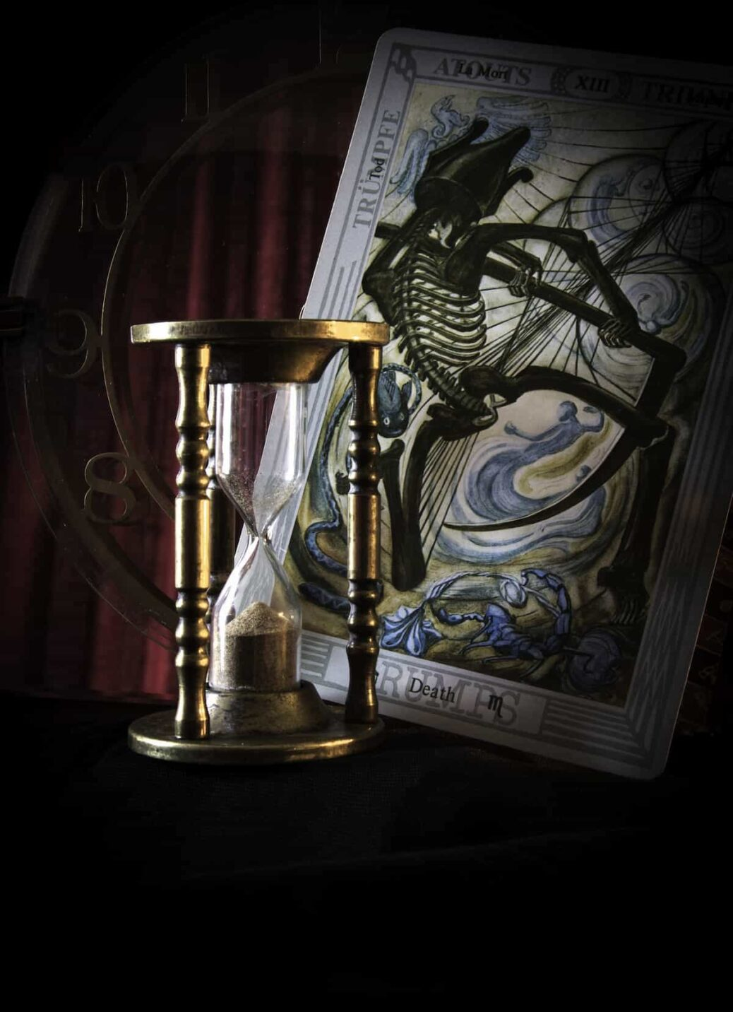 carta de la muerte, la muerte en el tarot, significado de la muerte, carta número 13 del tarot